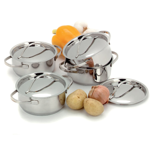 Resto Mini Dutch Ovens with Lids - 4 Piece Set