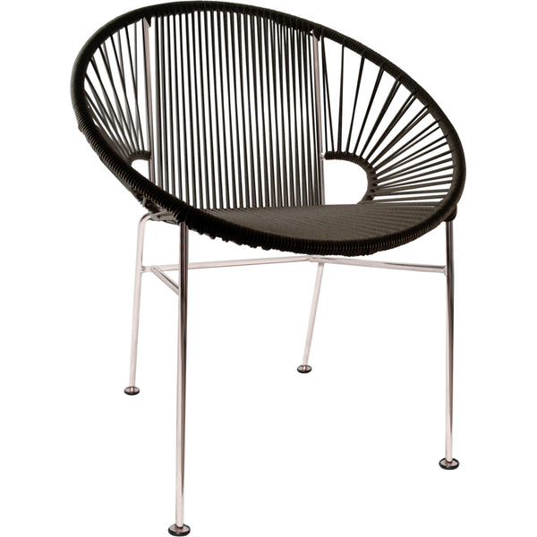Concha Chair - Chrome Base