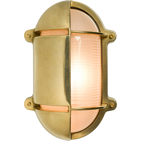 Oval Bulkhead Light - Large