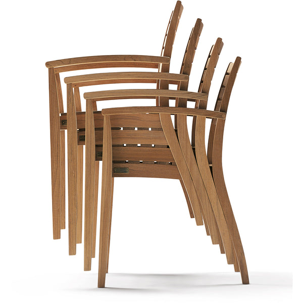 Ballare Stacking Chair - Teak