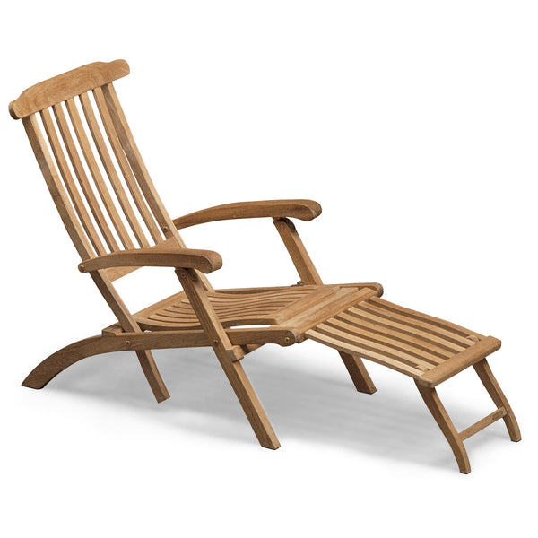 Steamer Deck Chair - Teak