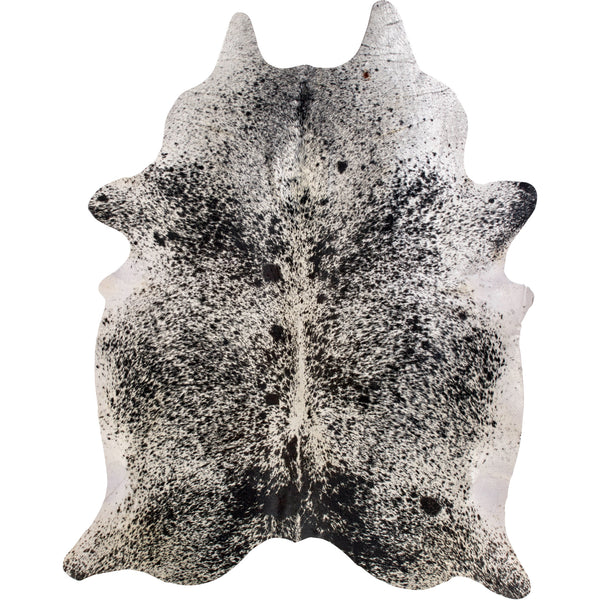 Cowhide Rug - Black White Salt & Pepper