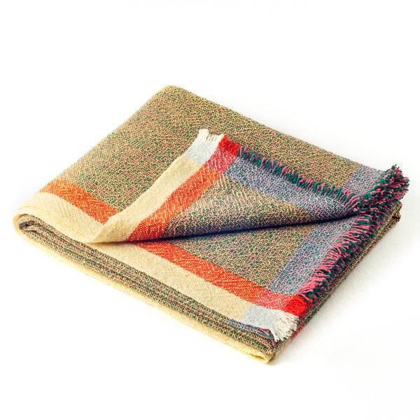 Integrate Hand Woven Throw - Sensation