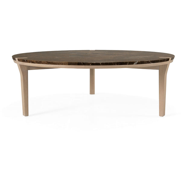 Corner Center Coffee Table - Round