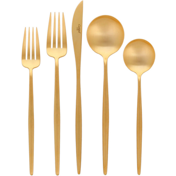 Moon Cutlery - Brushed Gold - Boxed Sets
