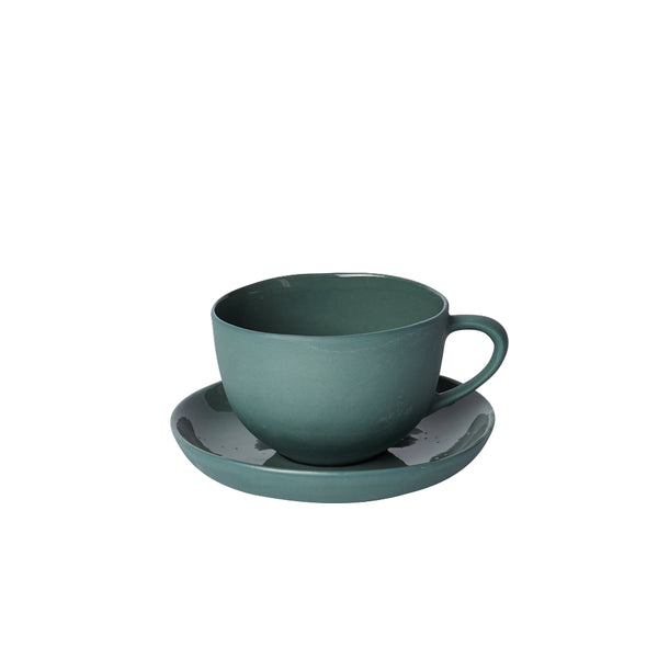 Mud Australia Round Teacup and Saucer