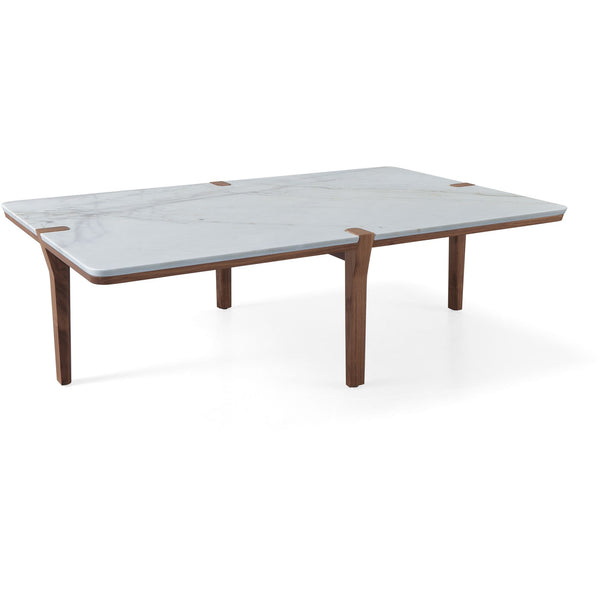Corner Center Coffee Table - Rectangular