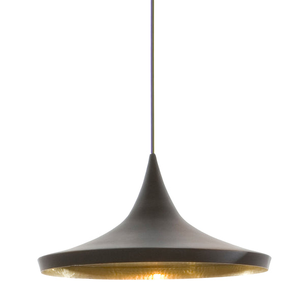 Beat Light Wide Pendant - Black
