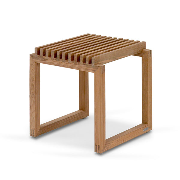 Cutter Stool Low - TeakSkagerak