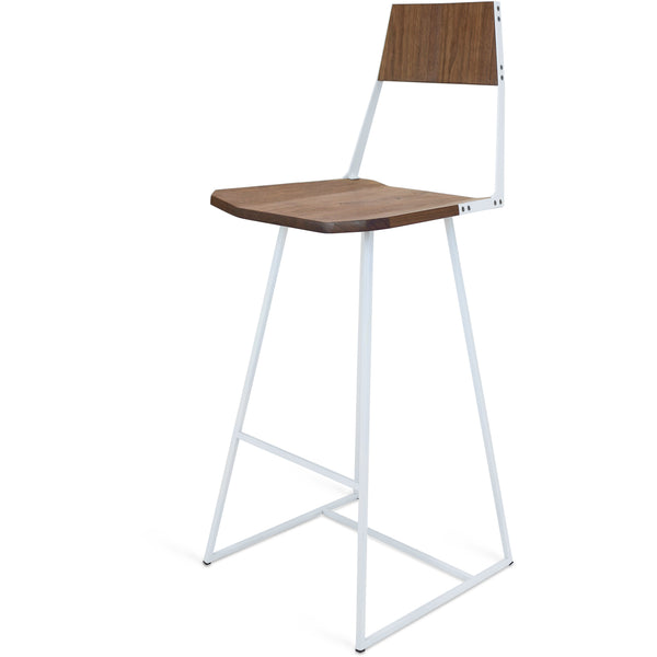 Clarkester Bar Stool - Walnut