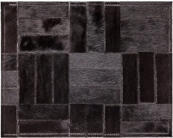 Holiday Cowhide Rug - Black