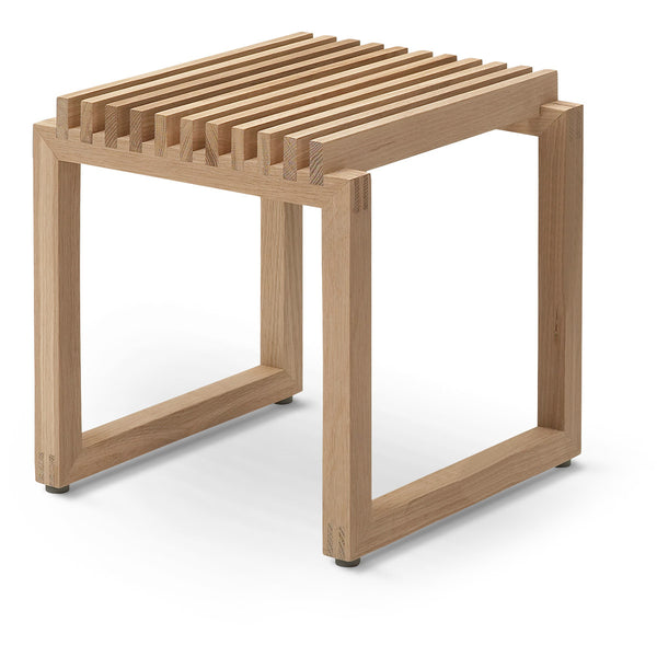Cutter Stool Low - Oak