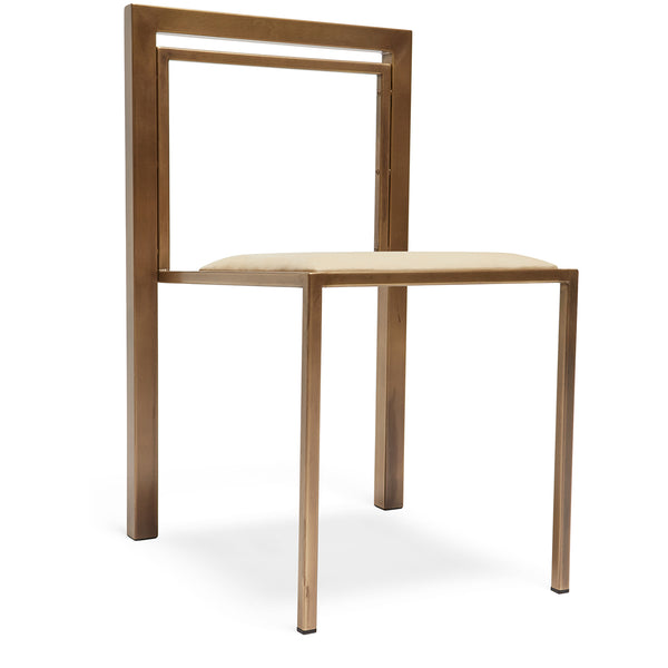 Inheritance Stackable Dining Chair - Leather