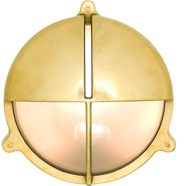 Large Bulkhead Light with Eyelid Shield