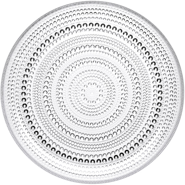 Kastehelmi Medium Plate - Clear
