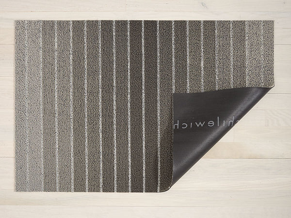 Chilewich Block Stripe Shag Rug