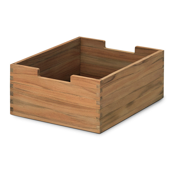 Cutter Storage Box Small - Teak