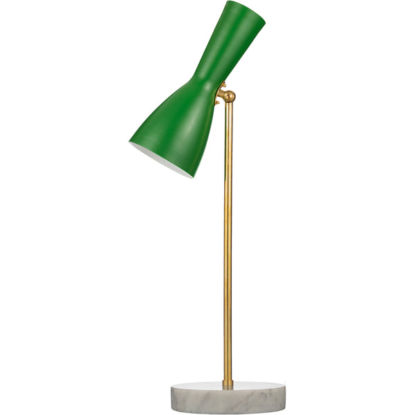 Clone of Wormhole Numer 4 - Table Lamp Grass Green/White