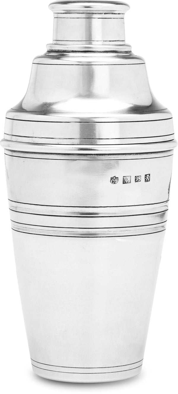 Classic Pewter Cocktail Shaker