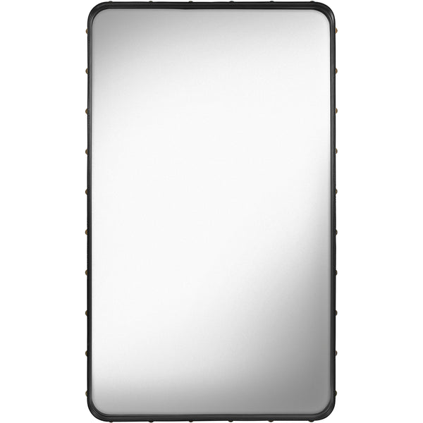 Adnet Rectangular Mirror 70x115 - Black
