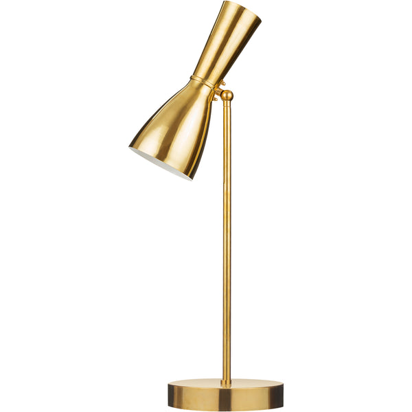 Wormhole Numer 4 - Table Lamp Gold