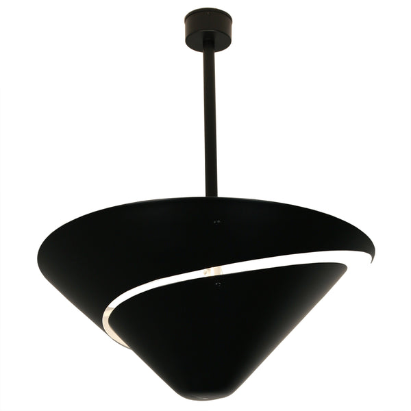 Serge Mouille Escargot Ceiling Lamp
