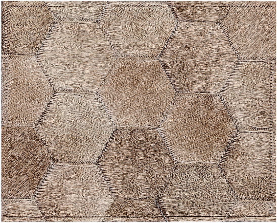 Bennet Cowhide Rug - Champagne - 8 x 10 Product Image