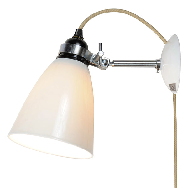 Hector Medium Wall Light Plug/Switch/CordOriginal BTC