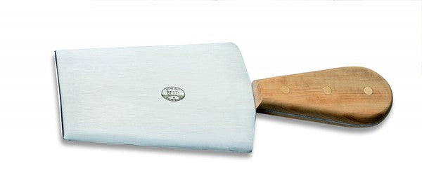 Trapezium Cheese Knife - Boxwood Handle
