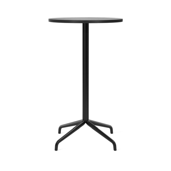 "Harbour Column Bar Table - 24"" Dia with Feet"
