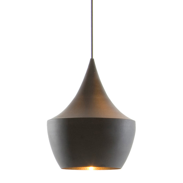 Beat Light Fat Pendant - Black