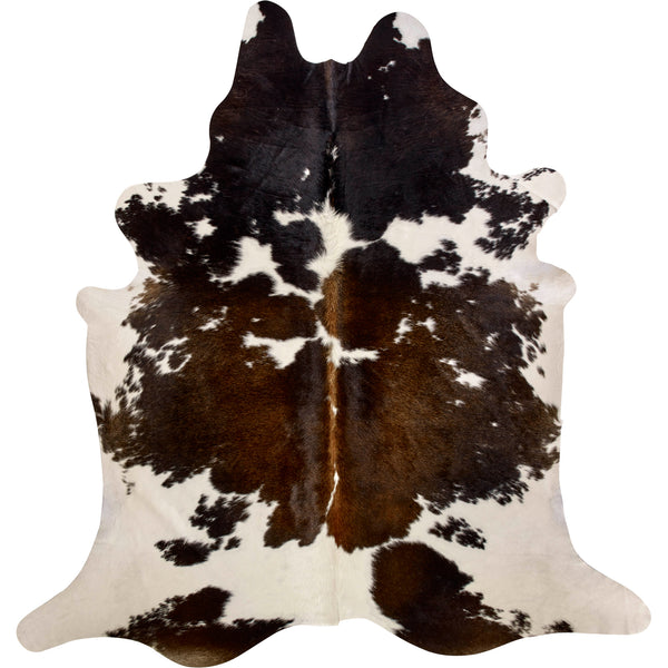 Cowhide Rug - Black/Brown/White Special
