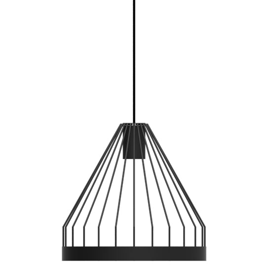 Bird Cage LED Pendant - Shape B