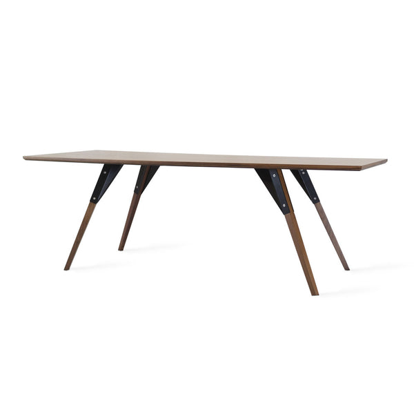 Clarke Thin Rectangle Coffee Table - Walnut