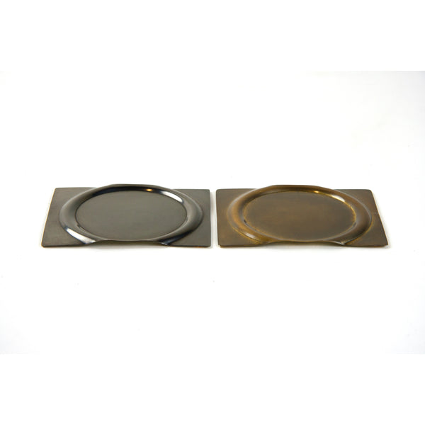 Coaster - Darkened Brass Set of 4