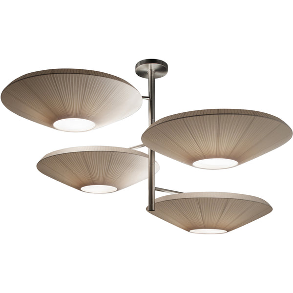 Siam 4 Luces Ceiling Lamp
