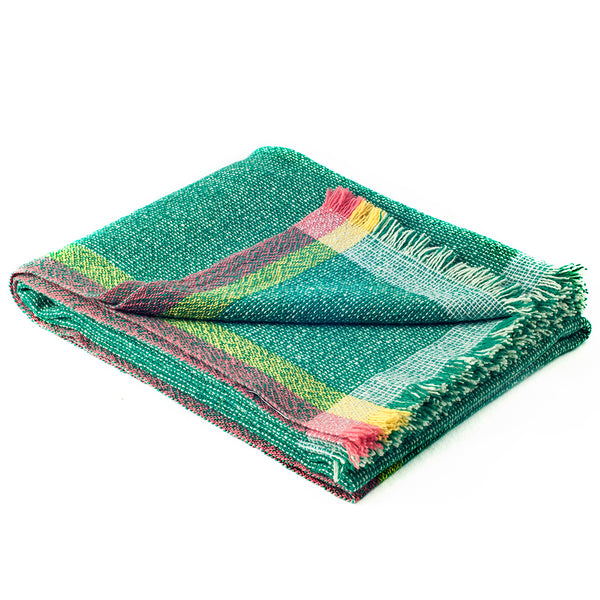 Integrate Hand Woven Throw - Intuition