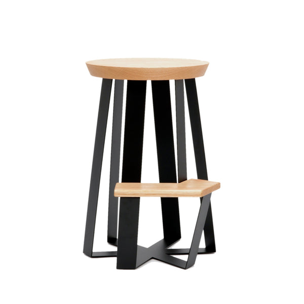 ARS Counter Stool - Wood