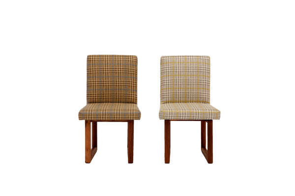 C2 W Houndstooth Chair