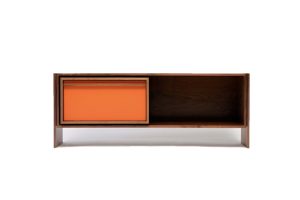 Artless Low Unit Small Orange Lacquer