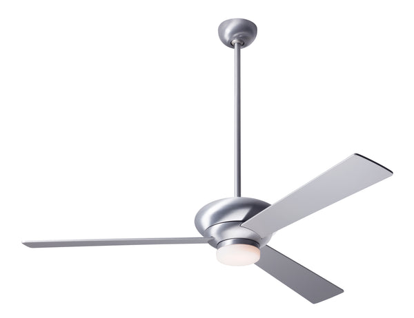 Altus Ceiling Fan With LED Light - Aluminum