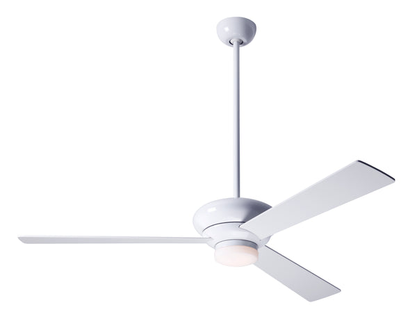 Altus Ceiling Fan With LED Light - White