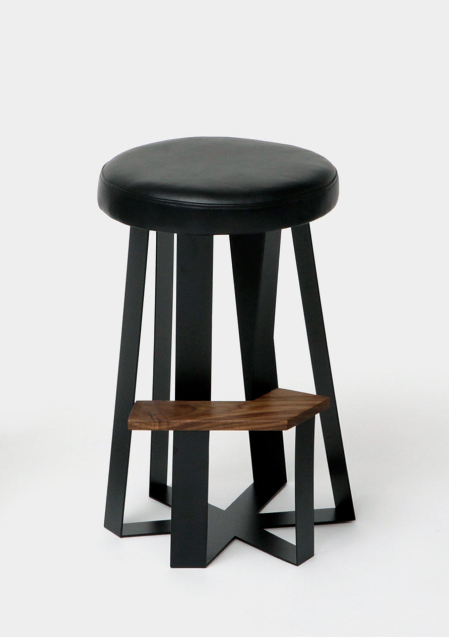 Artless ARS Counter Stool Leather Saddle