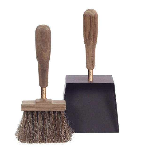 Emma Brush & Shovel - Walnut