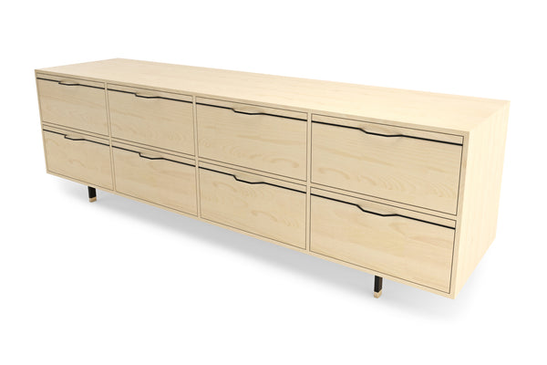 Chapman Long Dresser Credenza - Maple