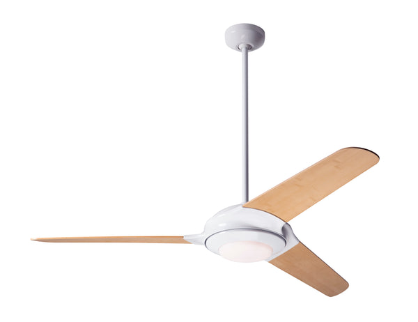 Flow Ceiling Fan With LED Light - White