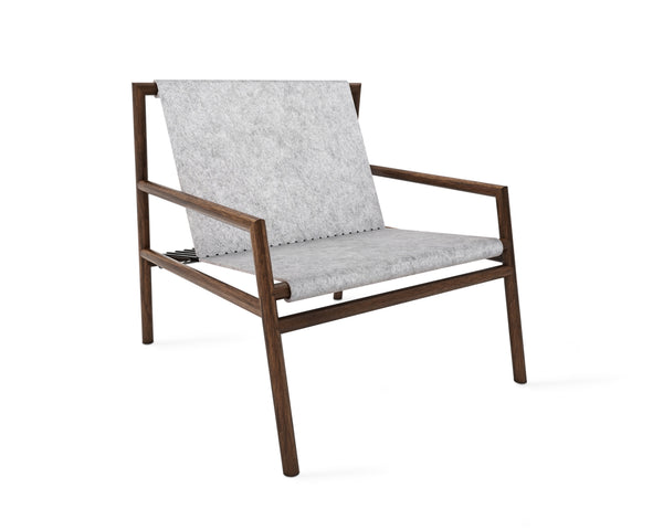 Gallagher Lounge Chair - Grey