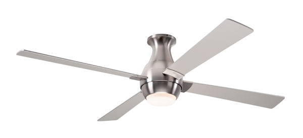 Gusto Flush Ceiling Fan With LED Light