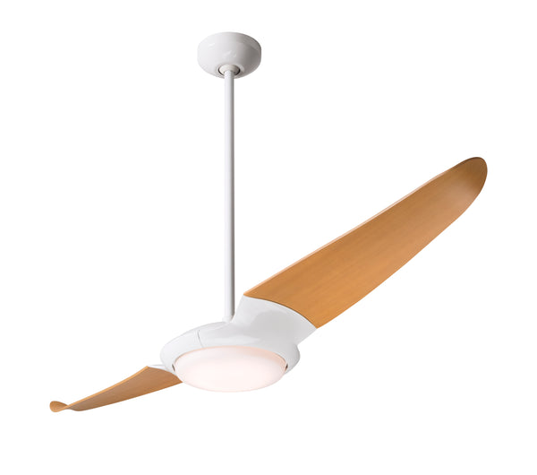 IC/Air Fan 2-Blade With LED Light - Gloss White