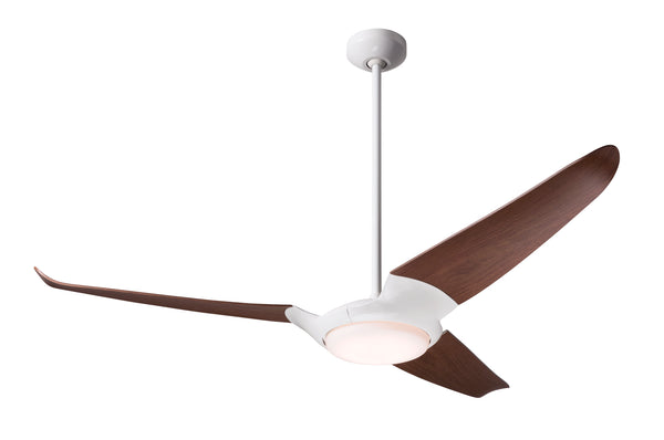 IC/Air Fan 3-Blade With LED Light - White